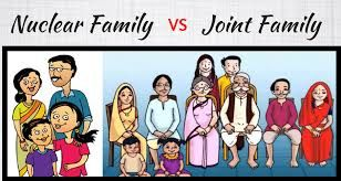 essay on nuclear family and joint family