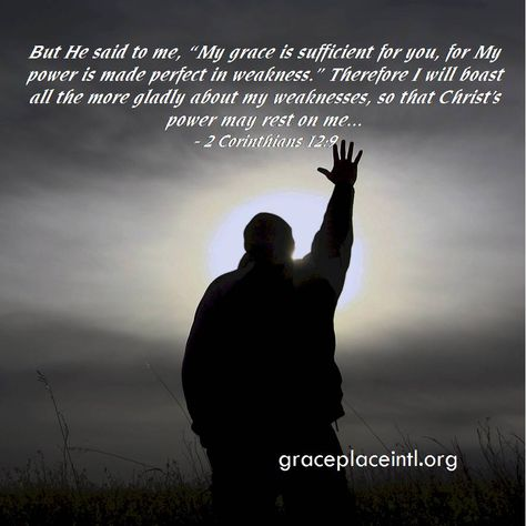 Me but the Grace of God in Me Christian