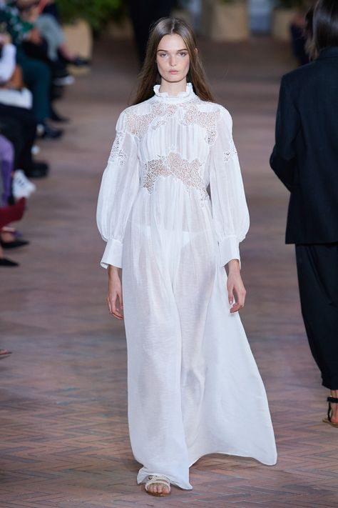 Whatever the status of your wedding planning, see Vogue's edit of wedding dresses from the international spring/summer 2021 collections, below.