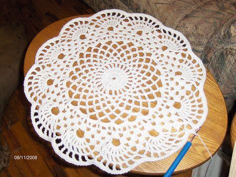 free Auriga Doily pattern