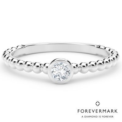293f96a82cade Forevermark Tribute Collection Diamond Stackable Ring in 18kt White ...