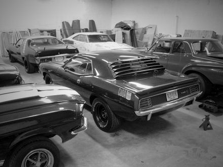 Muscle Car Garage Mopar Pinterest Car Garage Muscles And Cars