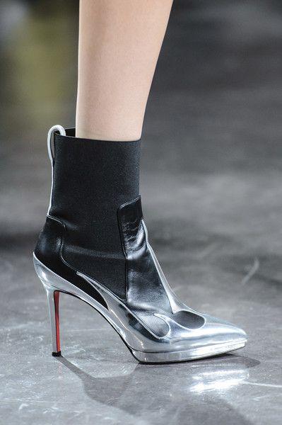 Thierry Mugler at Paris Fashion Week Spring 2018 - The Most Daring Runway Shoes at Paris Fashion Week - Photos