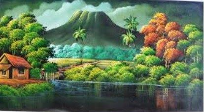 15 Contoh Lukisan Pemandangan Surealisme Berikut Adalah Contoh Karya Seni Rupa Murni Berupa Lukisan Pengertian Sureal Di 2020 Pemandangan Seni Abstrak Sejarah Seni