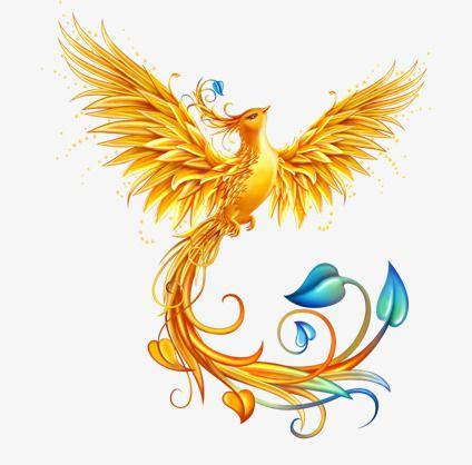 Golden Phoenix Phoenix Bird Tattoos Phoenix Tattoo Design Phoenix Tattoo