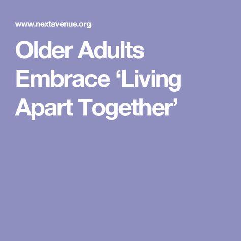 Living apart together relationships