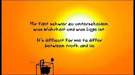 Tim Bendzko Ich Laufe Lyrics English Translation Truth And Lies Truth Reading