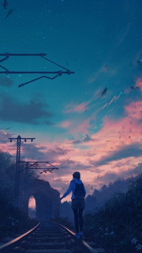 Anime Uiverse Shining Stars Iphone Wallpaper Iphone Wallpapers Anime Scenery Wallpaper Scenery Wallpaper Anime Scenery