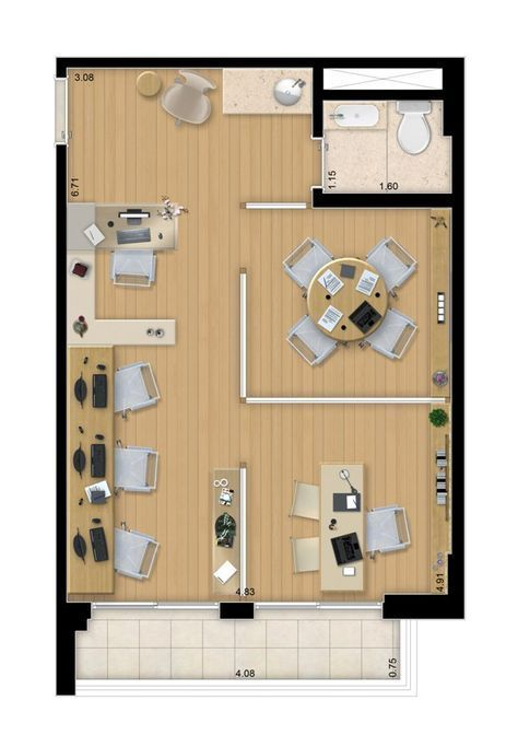68 Trendy Home Office Layout Ideas Floor Plans Spaces Floor Home Ideas Layout Office Home Office Layouts Office Layout Office Layout Plan