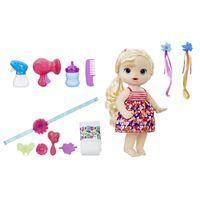 Boneca Baby Alive Lindos Penteados Loira C2445 Hasbro Bonecas Realistas Baby Alive Loira Brinquedos De Bebe Menina