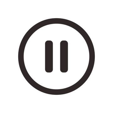 Pause Button Icon Button Icons Pause Icons Pause Png And Vector With Transparent Background For Free Download Icon Free Vector Graphics Social Media Icons