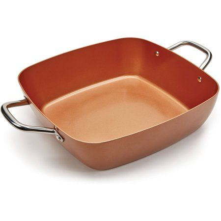 As Seen On Tv Copper Chef 6 In 1 11 Casserole Dish Walmart Com Copper Chef Casserole Dishes Copper Cookware