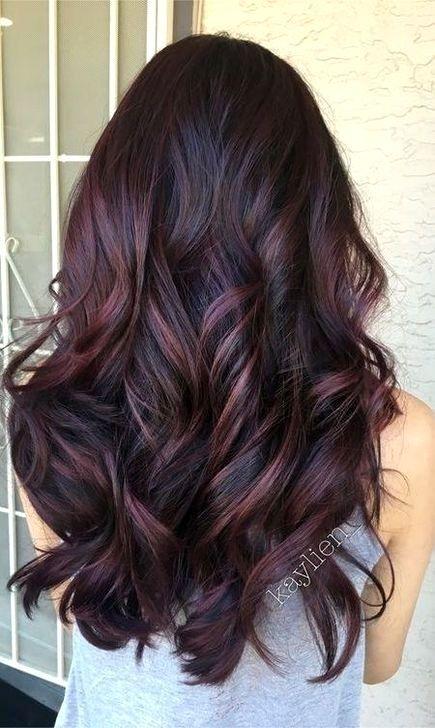 100 Best Hairstyles For 2020 In 2020 Plum Hair Hair Color Plum Hair Styles