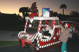 rosemond ward rbward35 on pinterest - Golf Cart Christmas Decorations