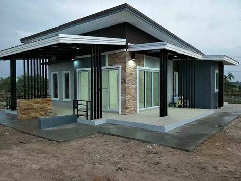 Gambar Teras Di Samping Rumah 55 ideas house plans one story modern design