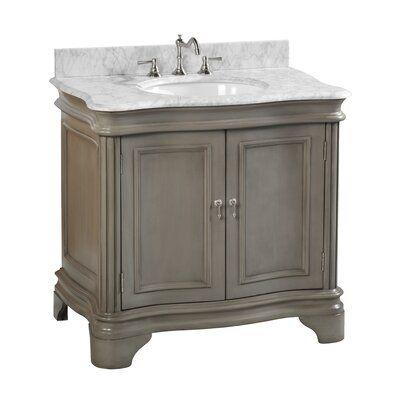 Brittany 36 Urban Gray Bathroom Vanity James Martin Grey