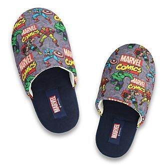 5//6 7//8 M NEW Spiderman Marvel Toddler Boys Glow in the Dark Slippers Size S