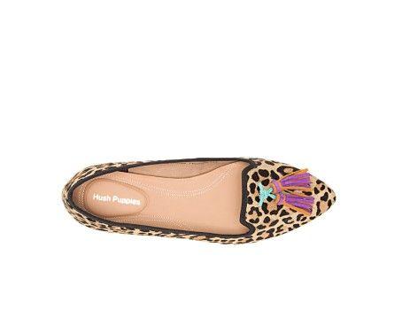 Women Sadie Tassel Slip On Casual Shoes Hush Puppies Hush