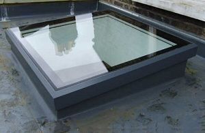 Fixed Glass Rooflight Roofingequipment Roof Skylight Roof