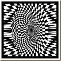 53+ New Ideas Painting Black And White Illusions #painting
