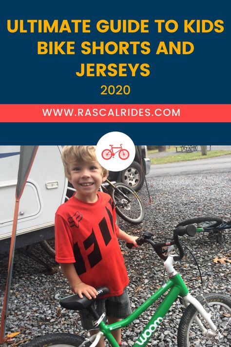 The Ultimate Guide to Kids Bike Shorts and Jerseys - Rascal Rides