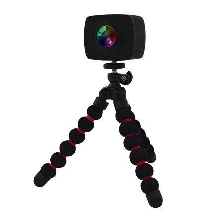 360 Degree Vr Camera With Dual Spherical Lens Walmart Com Vr Camera Waterproof Camera Case Water Camera
