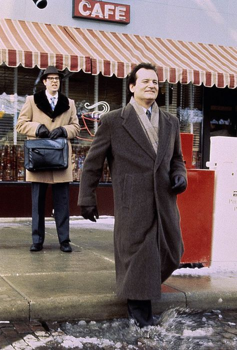 """""""Watch out for that first step, it's a doozy."""" - Stephen Tobolowsky and Bill Murray in """"Groundhog Day"""" (1995)"""