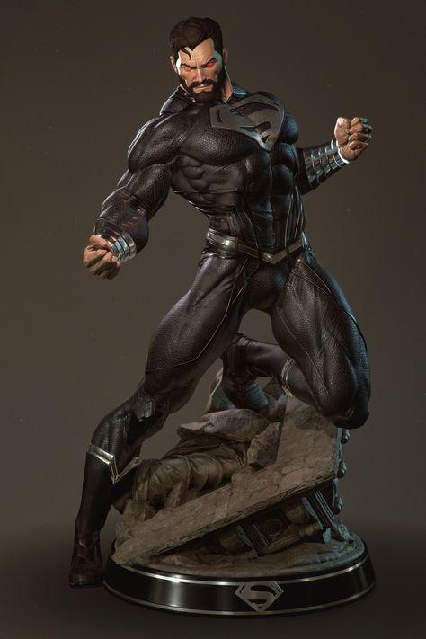 Superman Returns black suit, Gerard Kravchuk