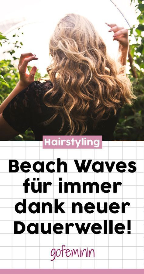 The comeback of perm: Beach Waves that last really long - #beach #comeback #really #waves - #HairstyleFringe