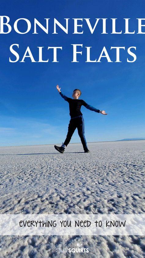 Visit the Bonneville Salt Flats for real