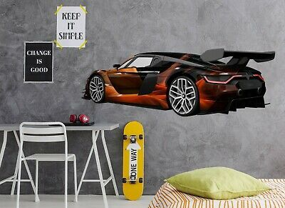 Details About 3d Luxury Car A131 Car Wallpaper Mural Poster
