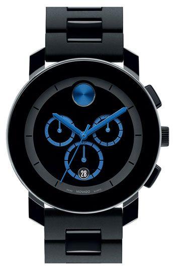 Movado 'Bold Chrono' Bracelet Watch available at #Nordstrom
