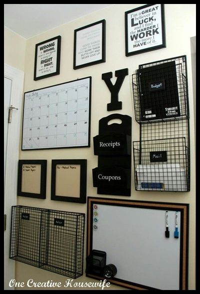 45 Unique Professional Bulletin Board Ideas Home Command Center
