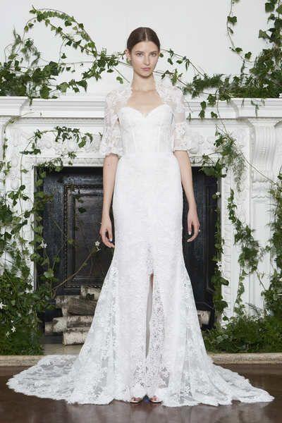 Moniquelhuillier Fw18 Look 11 Apple Beautiful Wedding Dresses Monique Lhuillier Bridal Monique Lhuillier Wedding Dress