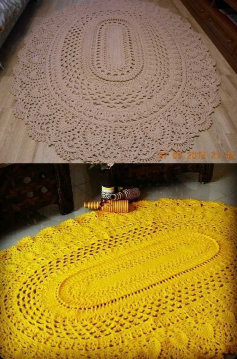 Top 10 Oval Mandala Rugs For Your Home Ideas Free Crochet Patterns Crochet Rug Patterns Free Crochet Rug Patterns Crochet Mandala Pattern