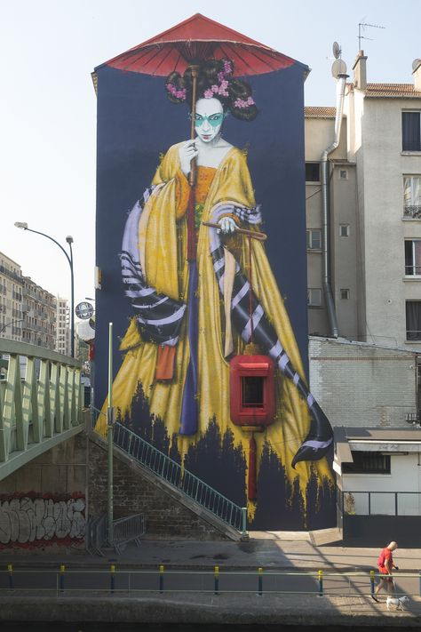 """Dengju"" by Fin DAC in Paris, France"
