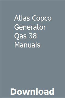 atlas copco generator wiring diagram atlas copco generator qas 38 manuals manual  driving instructor  atlas copco generator qas 38 manuals