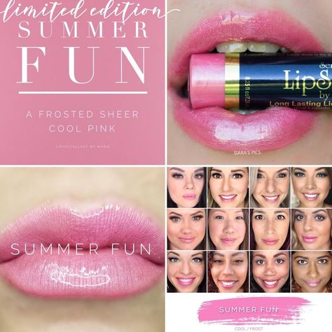 Summer Fun LipSense - LIMITED EDITION - LipSense SeneGence - Full size #SeneGence