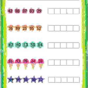 Ascending Descending Worksheets For Class 2 Ascending Order Worksheets For Grade 2 Maths Worksheets For 2nd Grade Worksheets Second Grade Math Math Worksheet