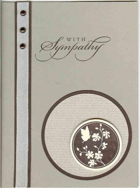 SC478 Serene Silouhettes by Kathy LeDonne - Cards and Paper Crafts at Splitcoaststampers