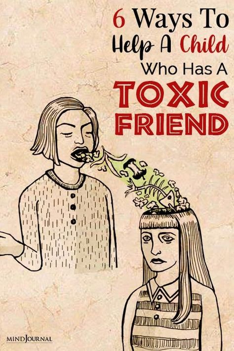 It is critical that a parent possesses the tools to identify a toxic friend and help their child escape the abusive union before irreparable damage is done. #toxicfriend #parentingtips