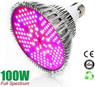 E27 30W LED Pflanzenlampe Voll Spektrum Pflanze Blumen Gemüse Wachstumslampe DE