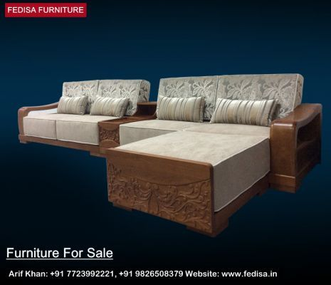 Wooden Sofa Set Wood Made Sofa Buy Sofa Set Online Fedisa With Images Sofa Set Wooden Sofa Set Wooden Sofa