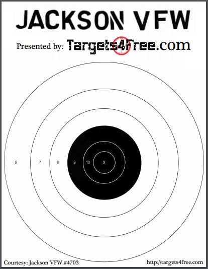 picture relating to Printable Bullseye known as Heavy Bullseye Concentrate VFW by means of Objectives4No cost. Print the superior