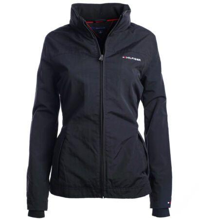 New Tommy Hilfiger Damen Yachting Windbreaker Jacke Bergangsjacke Black Womens Coats Jackets From Top Store Coats For Women Women S Coats Jackets Jackets