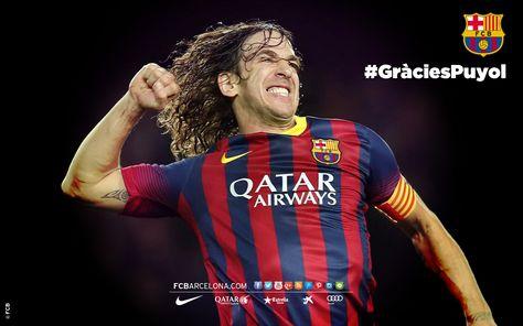 Los seis fondos de escritorio de Carles Puyol | FC Barcelona