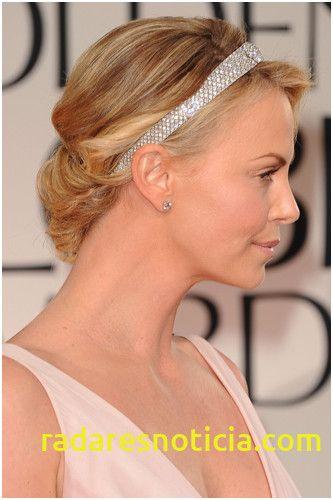 Inspirational Mai English Medium Padi Hairstyle In 2020 Hair Styles Side Updo Charlize Theron
