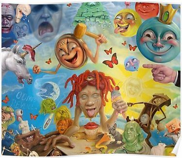 New Trippie Redd Me Likey Single 2020 Album Cover 48 27x40 Silk Poster 627