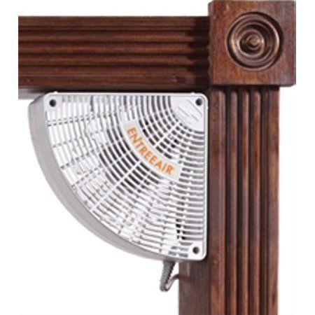 Corner Doorway Mounted Box Fan With 10 L Electric Cord And Hardware Fan Walmart Doorway