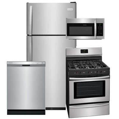 Frigidaire 4 Pc Pkg 840941 G 18 Cu Ft Refrigerator Gas